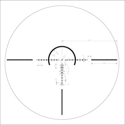 X7 Tactix 1-8x28 Reticle