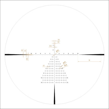 First Focal Plane Reticle