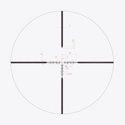X1-PRIMAL-4-16X44 Reticle