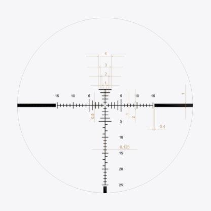 3-24x50 Riflescope reticle