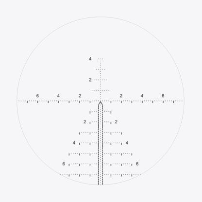 MRAD Riflescope Reticle