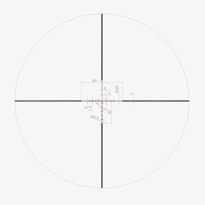 X1-PRIMAL-3-9X40 Reticle
