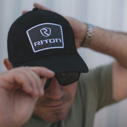 Black Riton Optics Hat