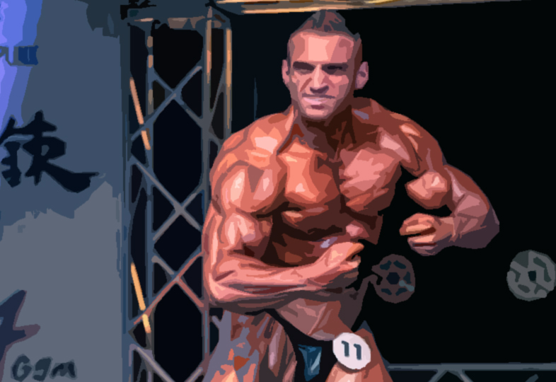 Bodybuilder Cody Montgomery