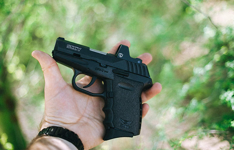 SCCY CPX-2 with Riton Red Dot